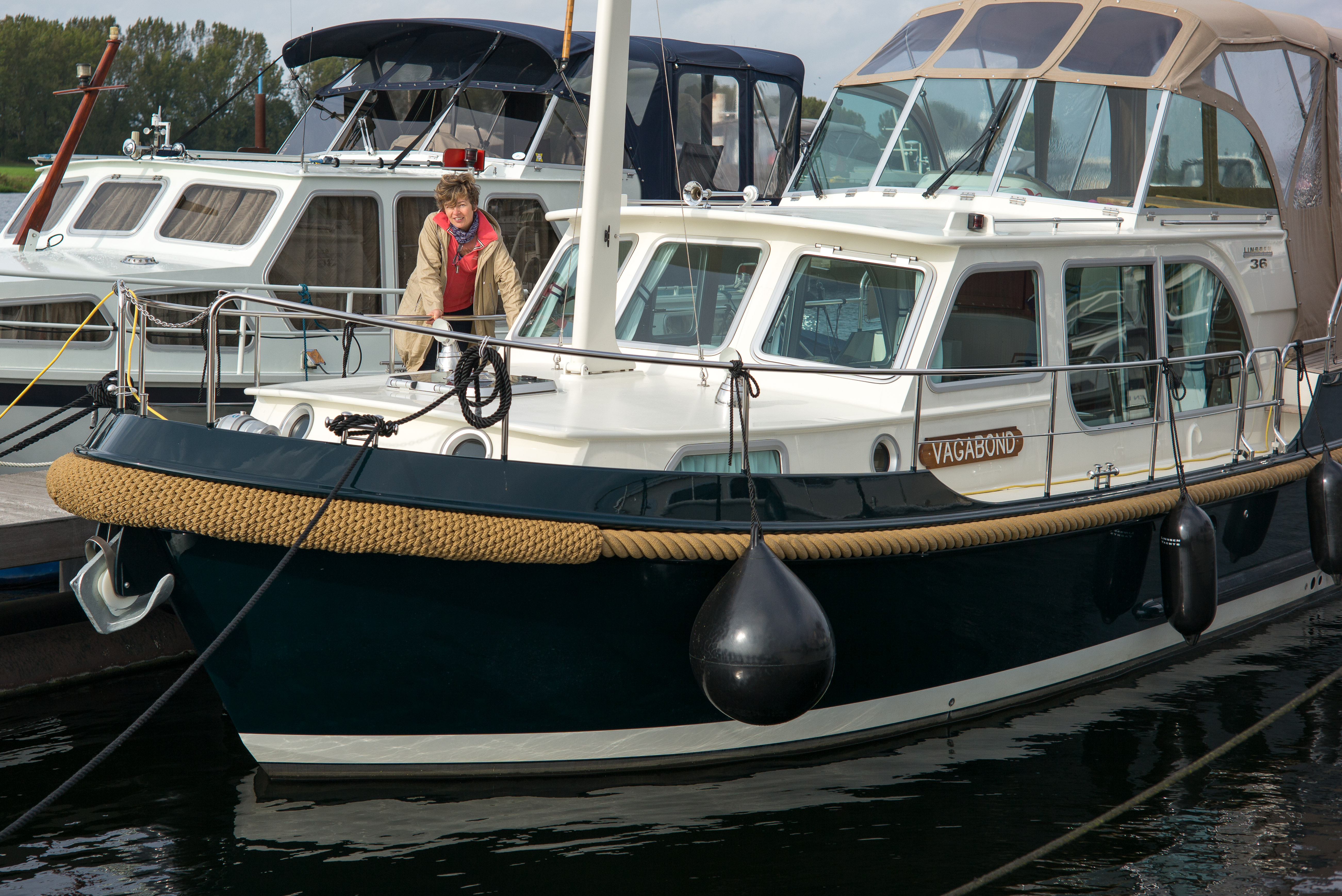 Im Hafen Van der Laan Yachting