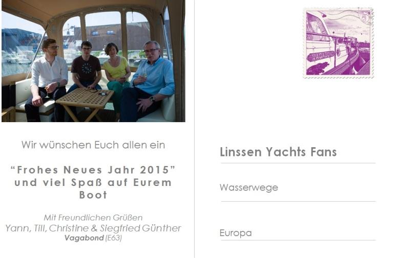 Vagabond Crew  - Linssen Yachts CS36AC
