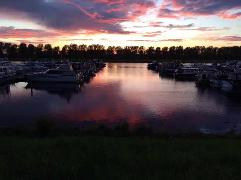 Sonnenunterlang in VanDerLaan