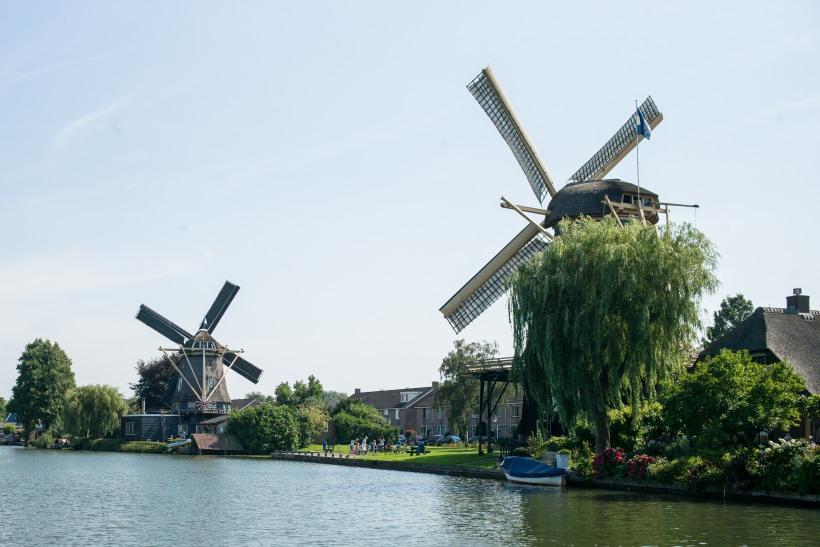 Windmühlen bei Weesp an der Vecht