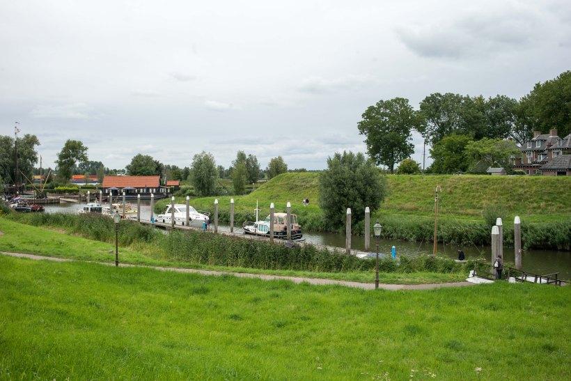 Historischer Hafen Woudrichem